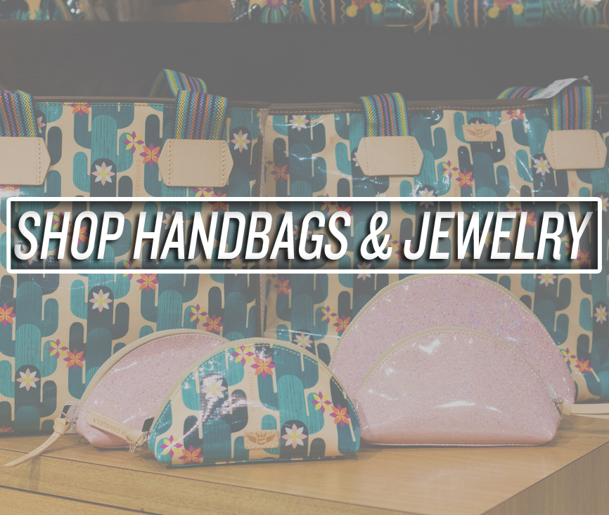 Shop Jewelry and Handbags