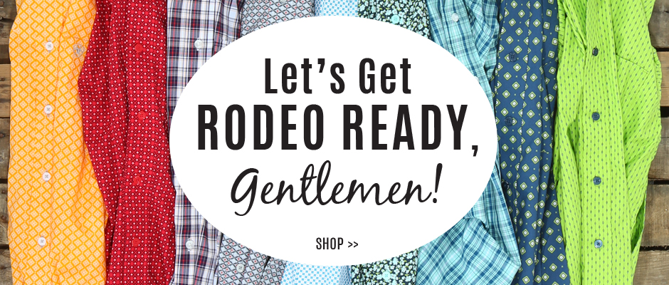 Get Rodeo Ready with Men's Shirts