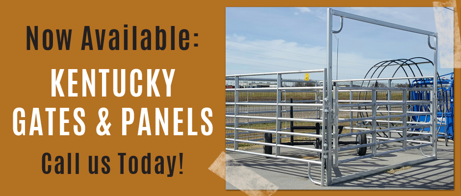 Kentucky Gates and Panels Now Available. Call Today!