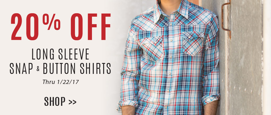 Shop 20% Off Men's Shirts