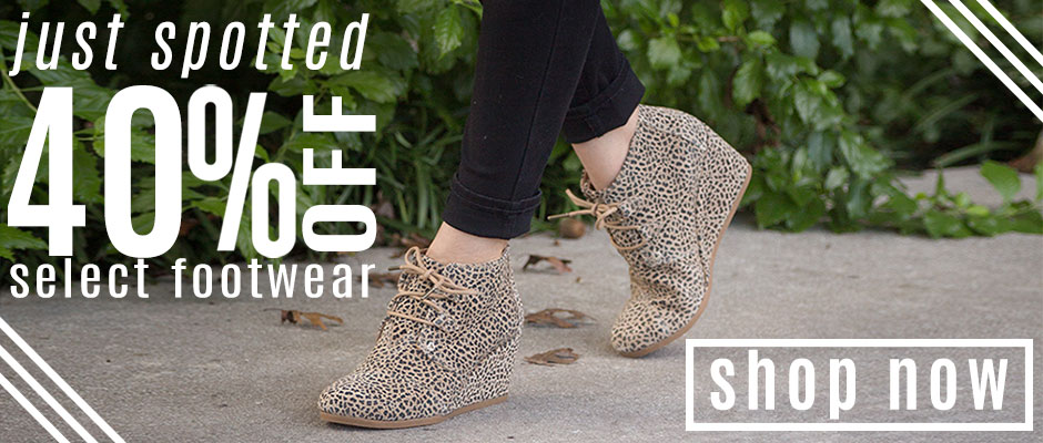 Shop 40% Off Casual Shoes!