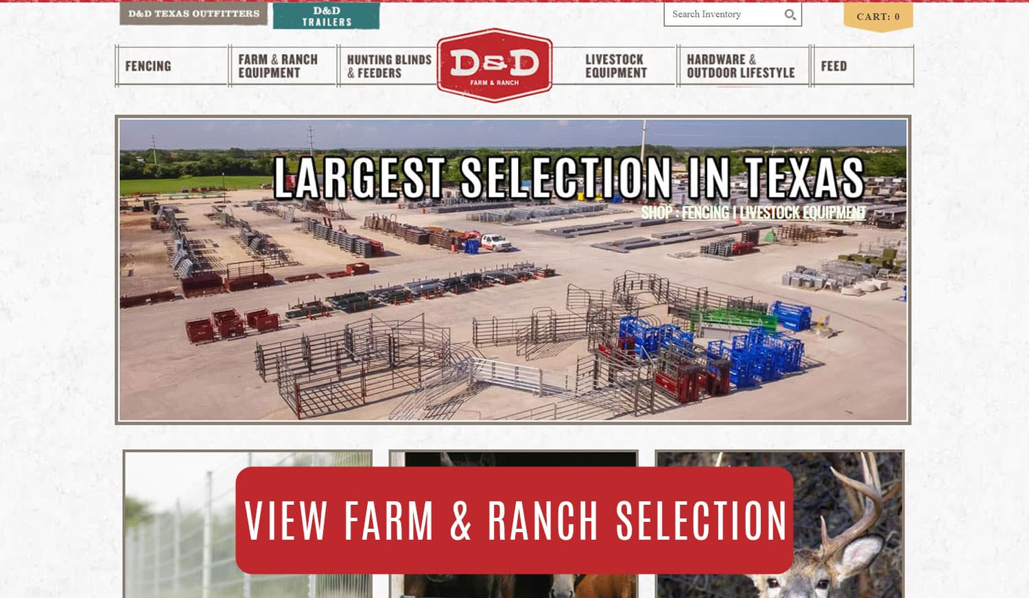 View Farm and Ranch Selection!