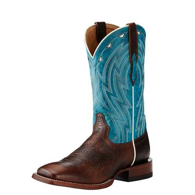 Ariat Men's Chocolate Bullfrog Cowtown Boots