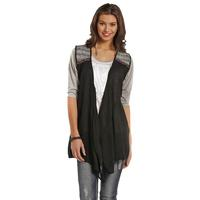 Rock and Roll Cowgirl Women's Long Crepe Vest