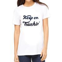 Bandit Brand Women's Keep On Truckin T-Shirt