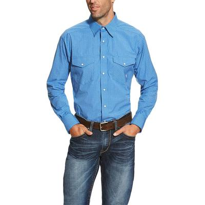Ariat Men's Double Pocket Andy Snap Shirt