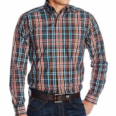 Ariat Men's Marshall Print Fitted Shirt