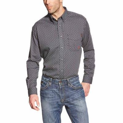 Ariat Men's Tyler Diamond Print Work Shirt