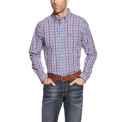 Ariat Men's Jedd Plaid Print Shirt