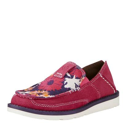 Ariat Girl's Flower Print Cruiser Shoes