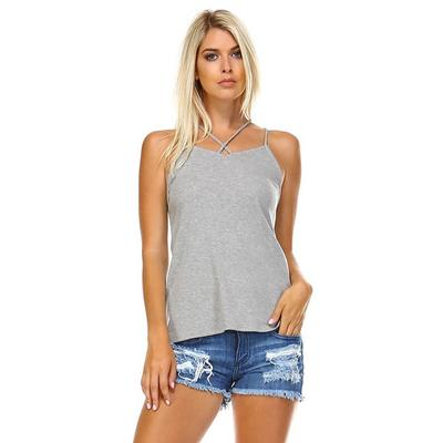 Corner Women's Criss Cross Tank Top HGRY