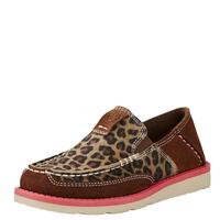 Ariat Girl's Cheetah Cruiser Shoes