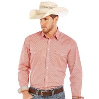 Panhandle Slim Men's Long Sleeve Rough Stock Button Down Shirt