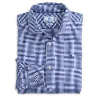 Southern Tide Men's Long Sleeve Palmetto Point Gingham Sport Shirt