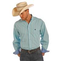 Panhandle Slim Men's Long Sleeve Plaid Button Down Shirt