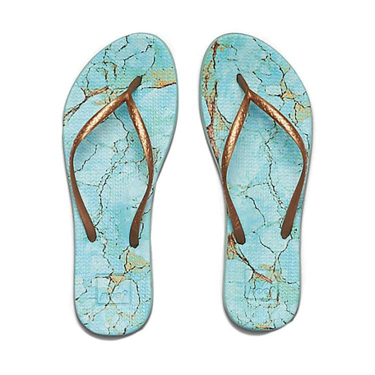 1f963af7e8dc Reef Women s Escape Lux Print Sandals