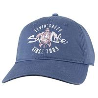 Salt Life Women's Coastal Blue Livin' Salty Turtle Cap