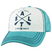 Salt Life Women's Salty Paddles Cap TEAL