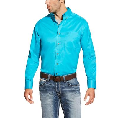 Ariat Men's Turquoise Solid Shirt