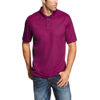 Ariat Men's Violet Tek Polo