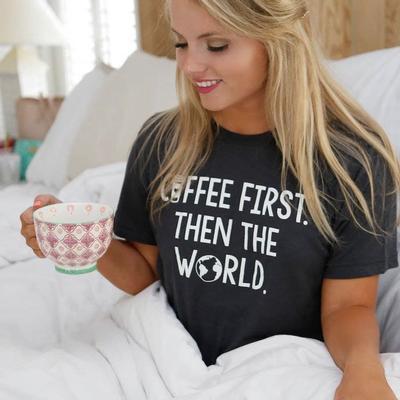 Atx Mafia's Coffee First T- Shirt