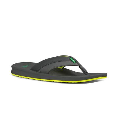Sanuk Men's Yellow and Grey Brumeister Sandals