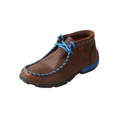 Twisted X Boy's Whip Lace Driving Moccasins