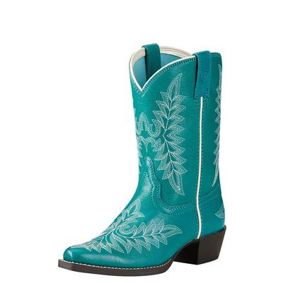 Ariat Girl's Mermaid Blue Brooklyn Boots