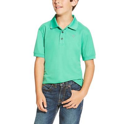 Ariat Boy's Photo Plasm Tek Polo