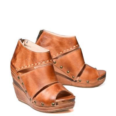 Bedstu Women's Cognac Jessie Shoes