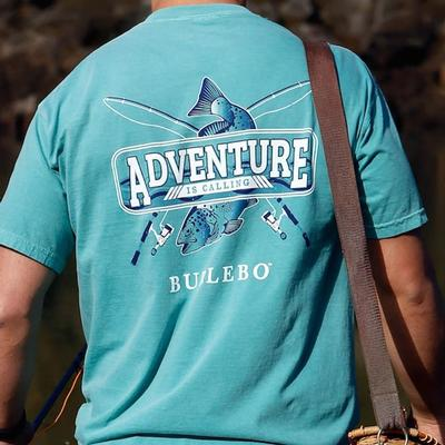 Burlebo Men's Adventure Is Calling T- Shirt