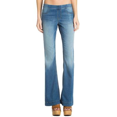 Cello Women's Light Wash Flare Jeans