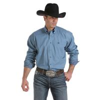 Cinch Men's Solid Slate Blue Shirt