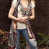 Double D Ranchwear Women's Hummingbird Blanket Vest