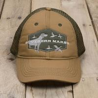 Southern Marsh Men's Hunting Dog Trucker Hat KHAKI