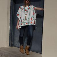 Tasha Polizzi Women's Short Sleeve Free Spirit Poncho
