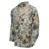 GameGuard Men's Camo Long Sleeve MicroFiber Shirt