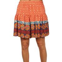Uncle Jane Women's Orange Shorts