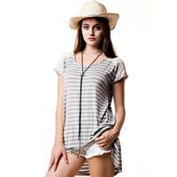 Kori America Women's Dream Stripe Tunic Top