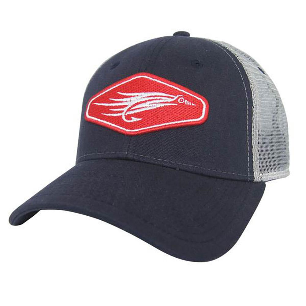 Avid men 39 s fly fishing trucker cap for Fishing trucker hats