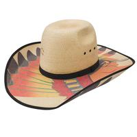 Charlie 1 Horse's Brave Straw Hat