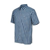 GameGuard Men's Deep Water Check Cotton Shirt