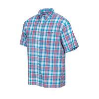 GameGuard Men's Guava Plaid Cotton Shirt