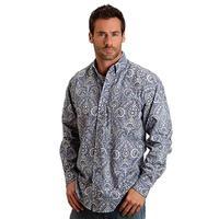 Stetson Men's Paisley Long Sleeve Button Shirt