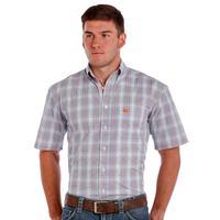 Panhandle Slim Men's Rough Stock Short Sleeve Button Shirt