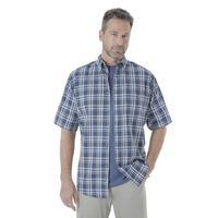 Wrangler Men's Rugged Wear Blue Ridge Plaid Shirt