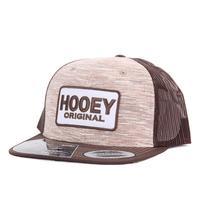 Hooey Original Brown & Tan Heather Cap