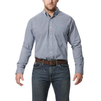 Ariat Men's Long Sleeve Bernie Print Shirt