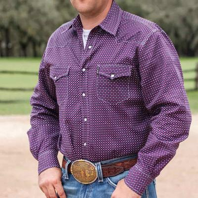 Cinch Men's Long Sleeve Modern Fit Snap Down Shirt