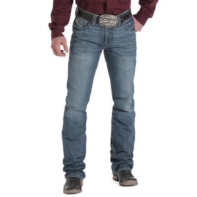 Cinch Men's Ian Mid Rise Slim Boot Cut Jean